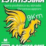 Locandina Estatissima 2017 a Strozzacapponi a Perugia